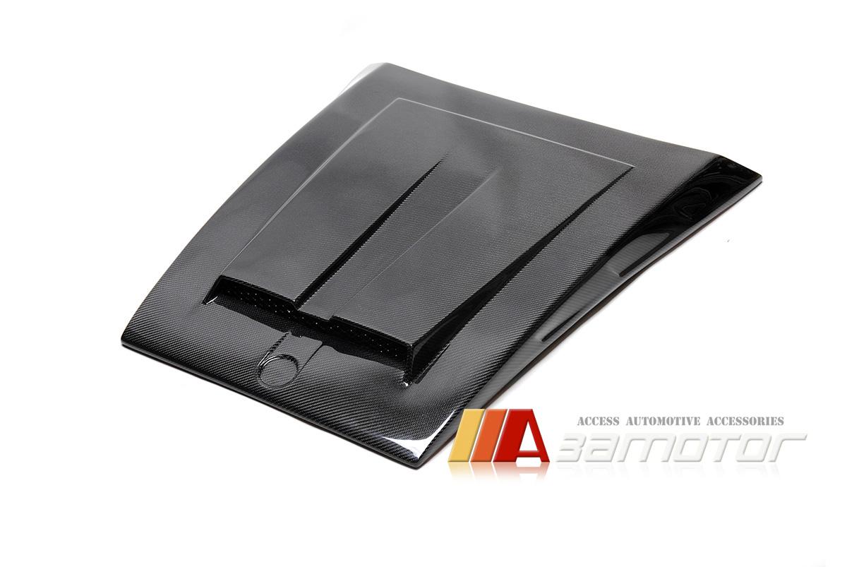 2009-2016 Fiat 500 Hood Liner Vent Hood Insulation inner Protector Carbon Fiber